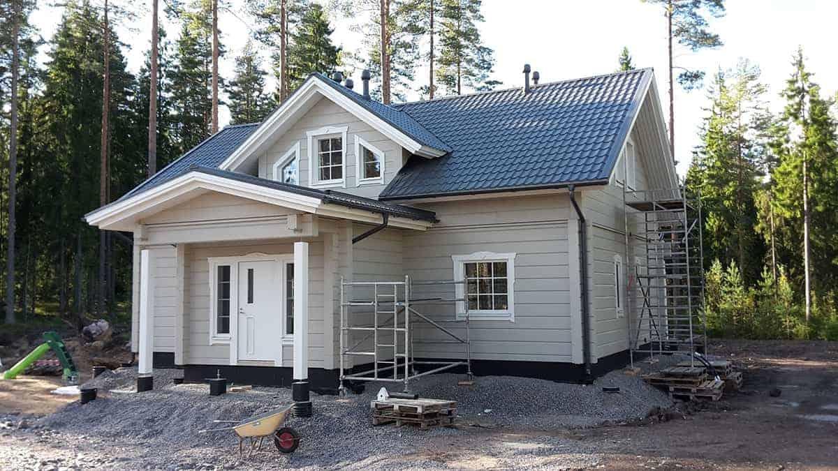 Talonrakennus valmis